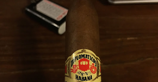 Cigar Review: Diplomáticos Bushido Edición Regional Asia Pacifico (2014) (TOS SEP-15)