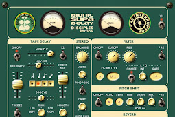 Bionic Supa Delay, Dub Delay VST Plugin Gratis dari THE INTERRUPTOR