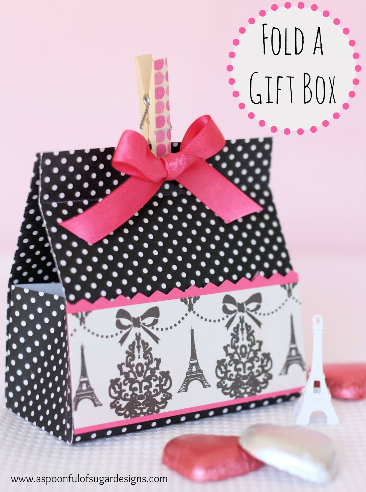 how to make a box from cardstock