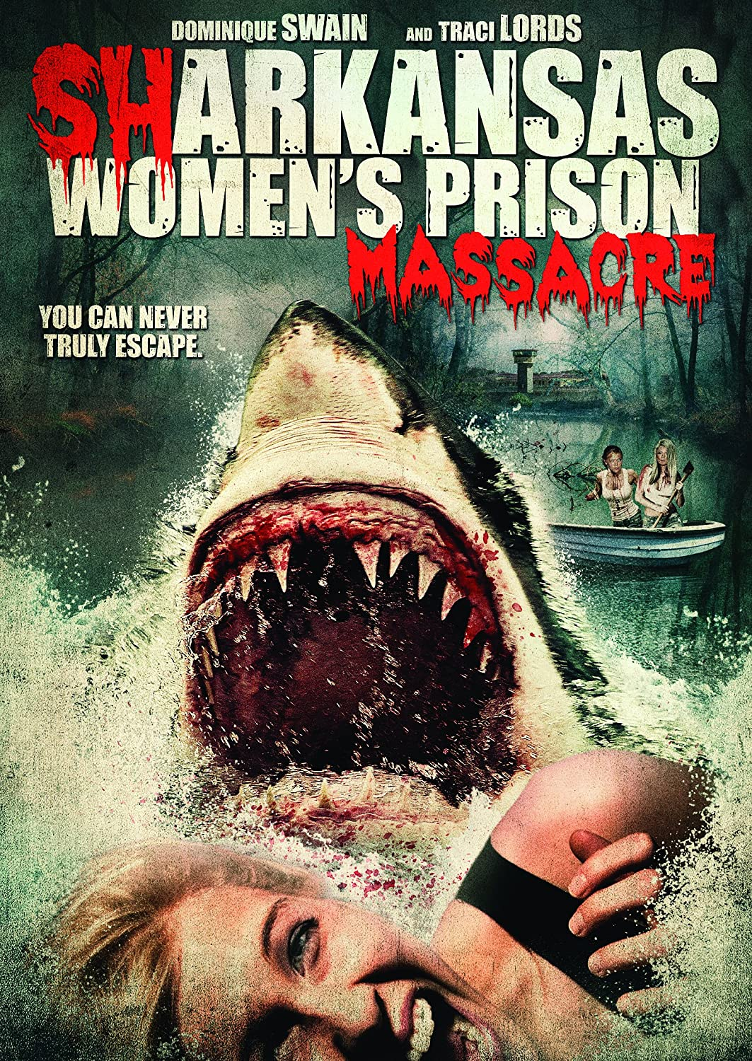 Sharkansas Womens Prison Massacre 2015 Dual Audio Hindi English 720p BluRay Full Movie Free Download