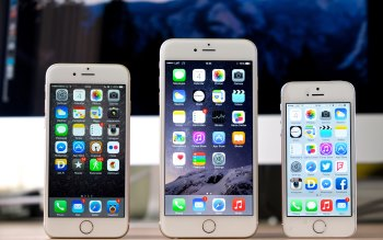 Wallpaper: iPhone 6 vs iPhone 6 Plus vs iPhone 5S