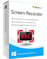 Aiseesoft Screen Recorder 1.0.12 Crack