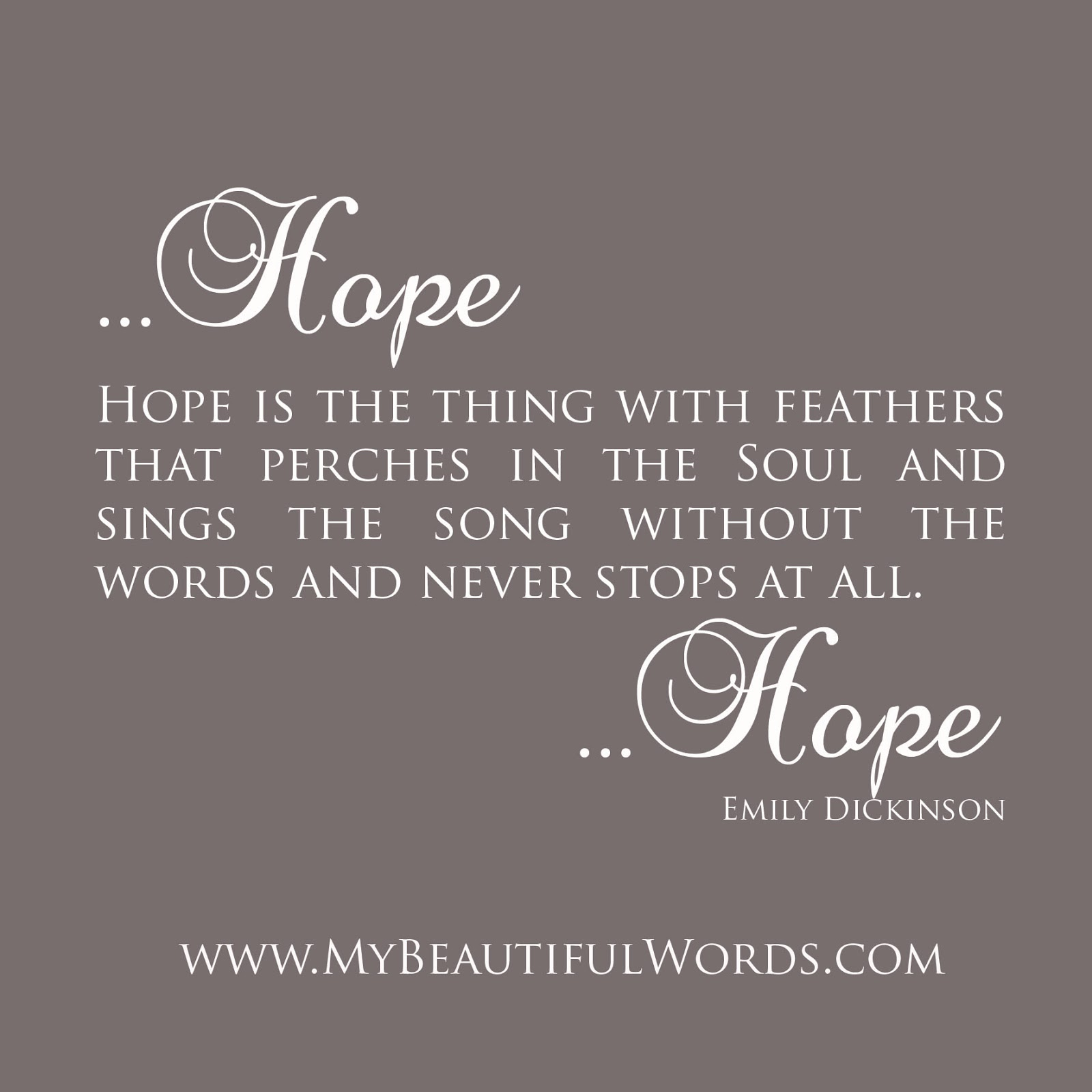 Inspirational Quotes About Failure: My Beautiful Words.: Hope