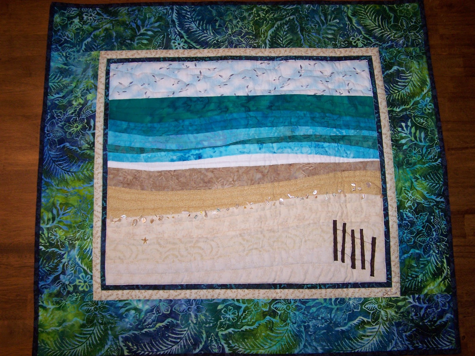 Hang Photos From Wire Tanderwen Quilts Landscape Quilts
