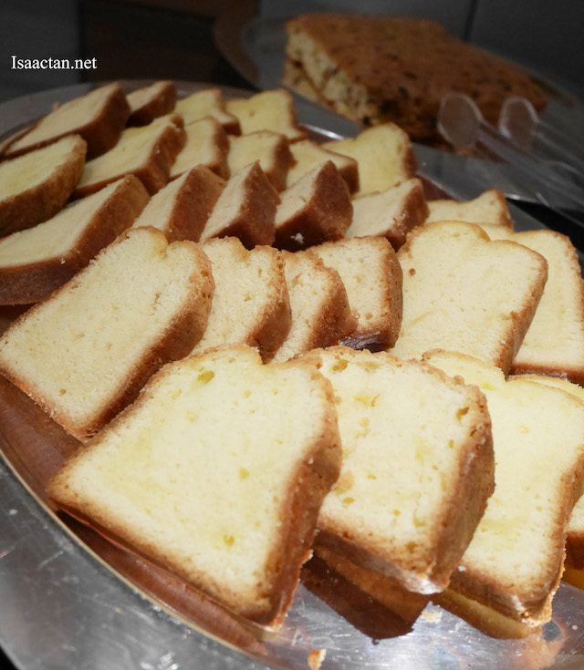 Yummy butter cake made from Anchor products