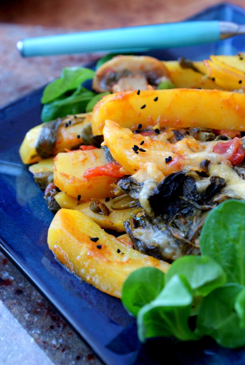 Z Kuchni Do Kuchni Ziemniaki Zapiekane Po Sycylijsku