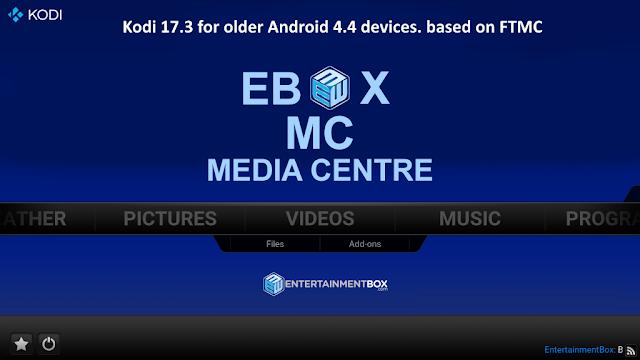 Kodi 17.1 pe Android 4.4