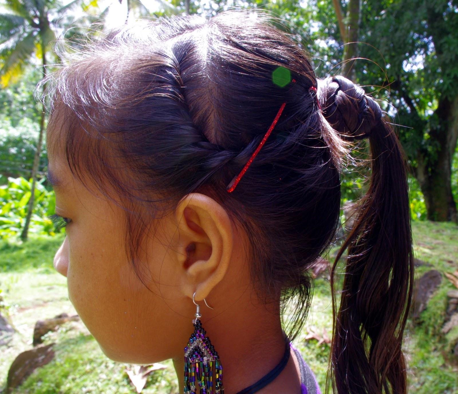 Braids Amp Hairstyles For Super Long Hair Micronesian Girl