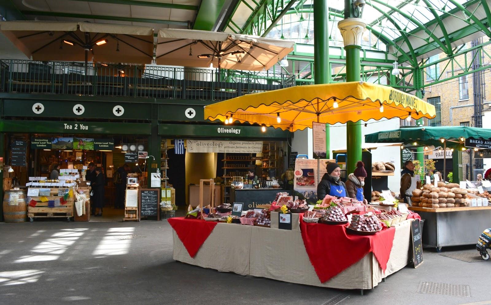 Best Food Markets London Wednesday