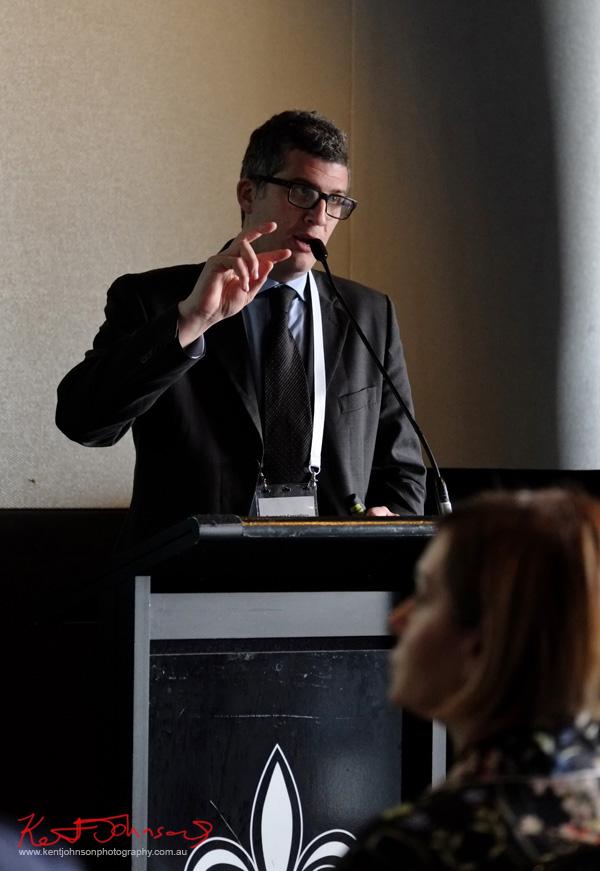 Mr Tommaso Cancellara speaking at Connect Italy 2017, Sydney, Australia. Street Fashion Sydney by Kent Johnson.