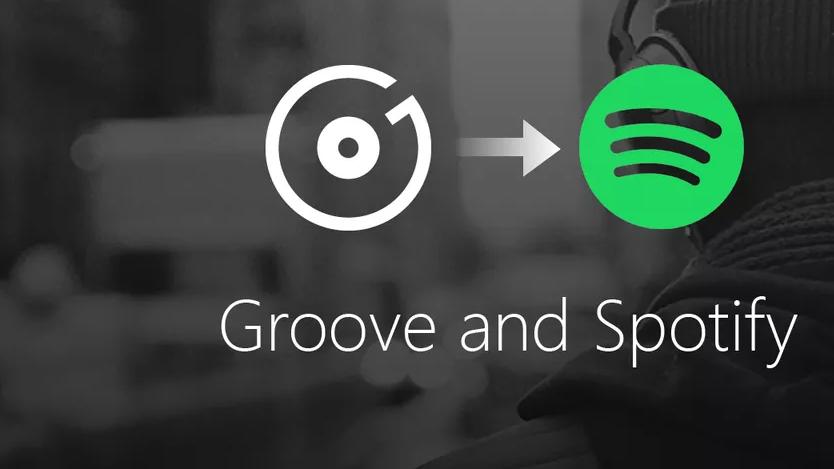 Os usuários do Groove Music terão direito a dois meses grátis de Spotify; serviço deixará de funcionar em 2018.