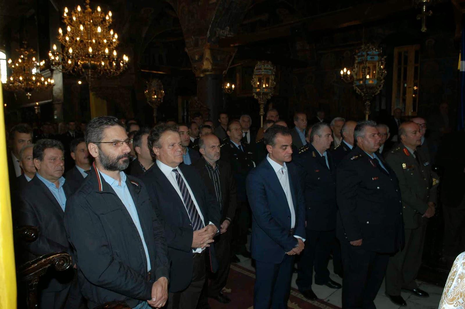 Εορτασμός της «Ημέρας της Αστυνομίας»  και του Προστάτη του Σώματος,  Μεγαλομάρτυρα Αγίου Αρτεμίου