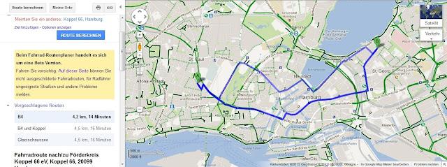Fahrrad Routenplaner Ohne Bundesstraßen - fahrradbic