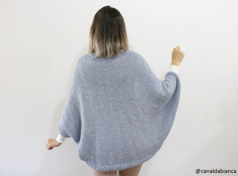 Colete Kimono Fácil  05e57ffe975
