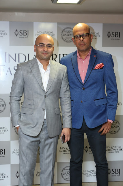 Mr. Vijay Singh Founder and CEO IBFW and Mr. Narendra Kumar Design Head IBFW