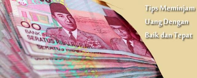 Gambar Tips Meminjam Uang Dengan Baik dan Tepat