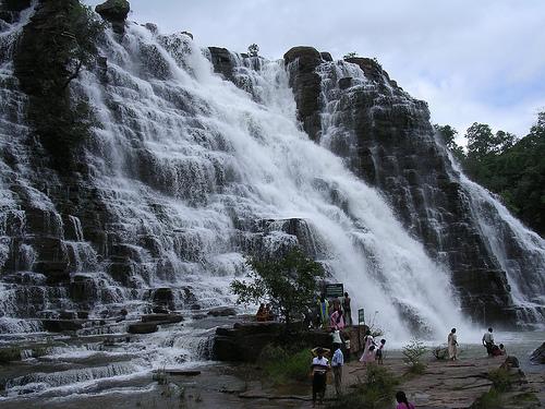 Tirathgarh falls in jagdalpur