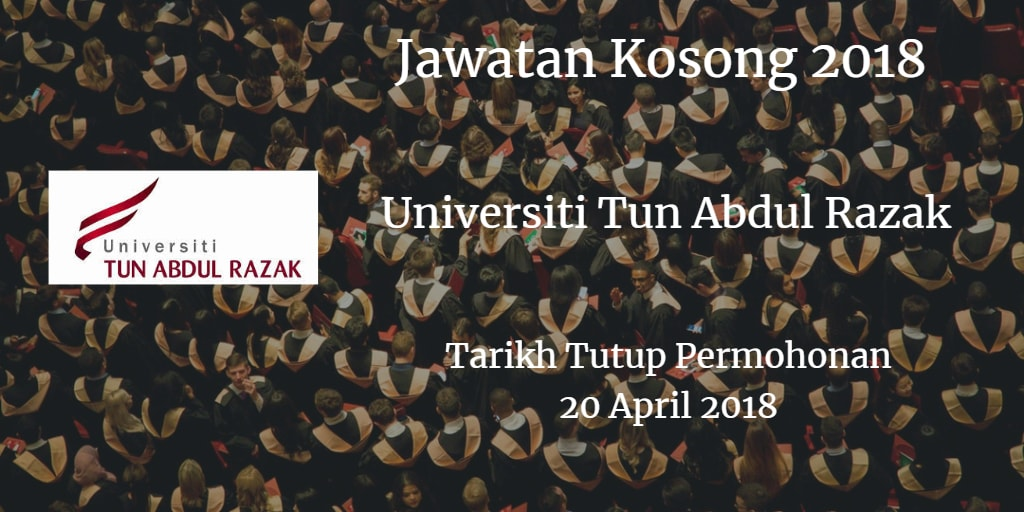 Jawatan Kosong UNIRAZAK 20 April 2018