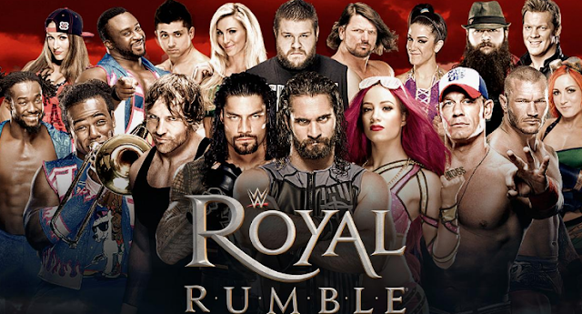 royal rumble match 2017 live stream