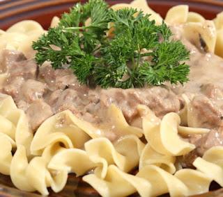 Slow Cooker Chicken Stroganoff Recipe