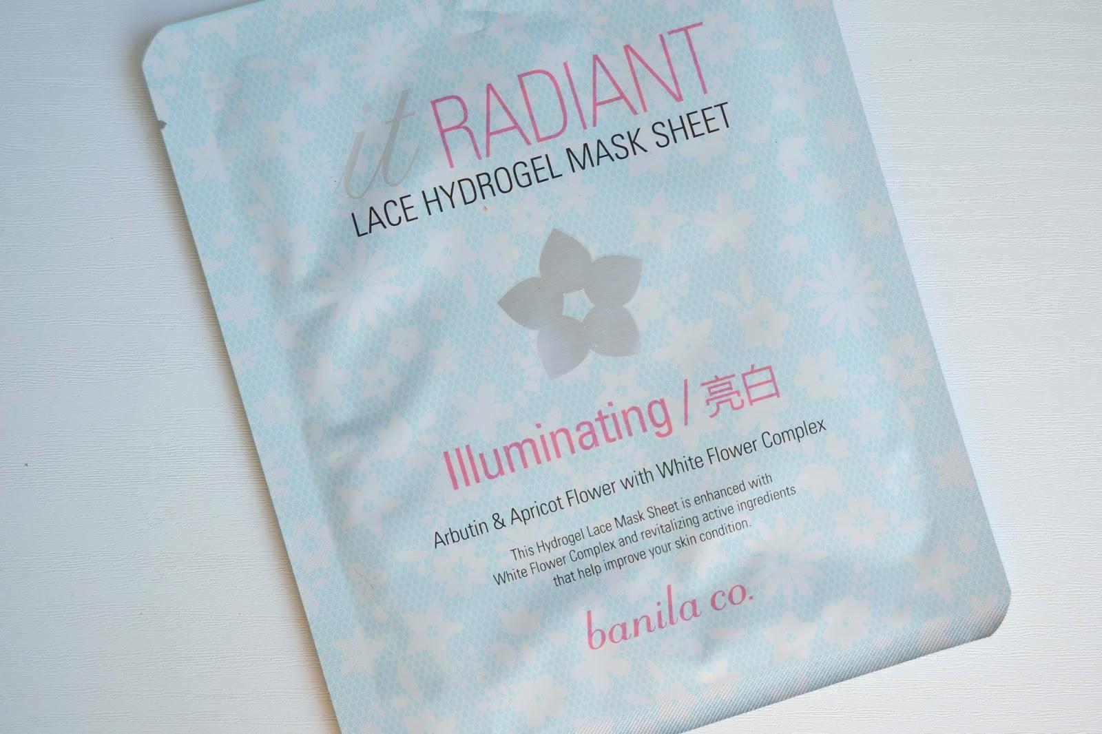 Banila Co. It Radiant! Hydrogel Sheet Mask ile ilgili görsel sonucu