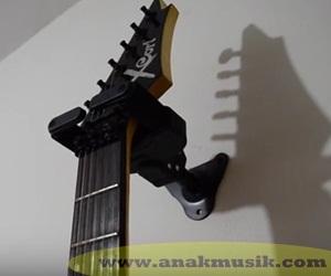 Cara Membuat Gantungan Gitar Di Dinding Tembok