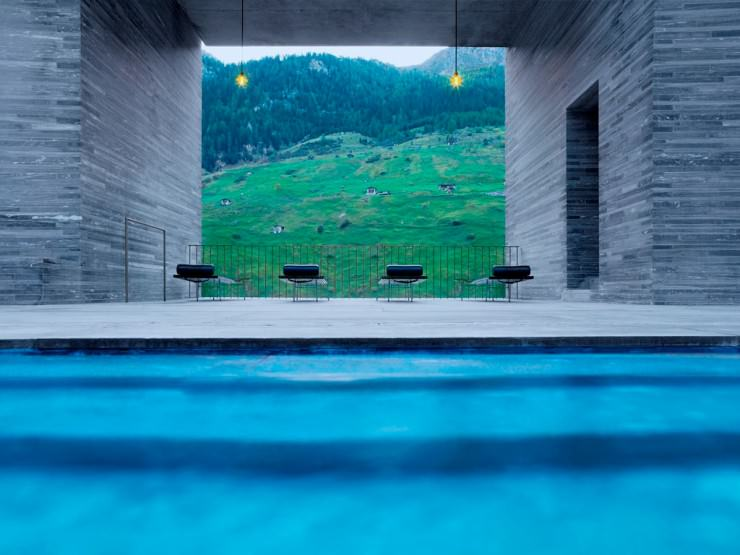 Top 10 Fun Things to See and Do in Switzerland - Relax in Therme Vals