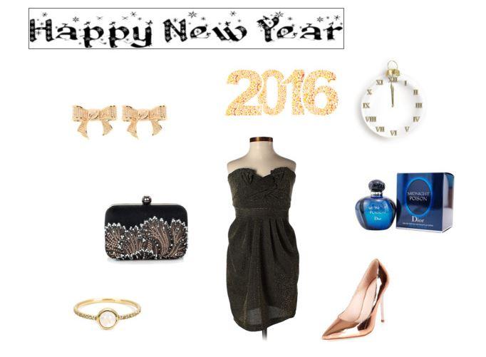 Stylizacja na Sylwestra. Szczęśliwego Nowego Roku 2016!!!