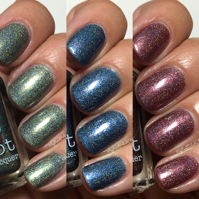 Nail Hoot Space Galaxy Trio Part II