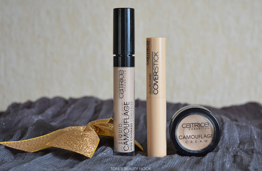 catrice camouflage concealers