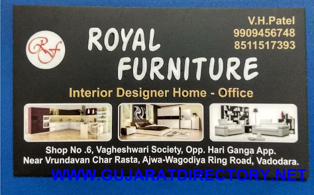 ROYAL FURNITURE - 9909456748 8511517393