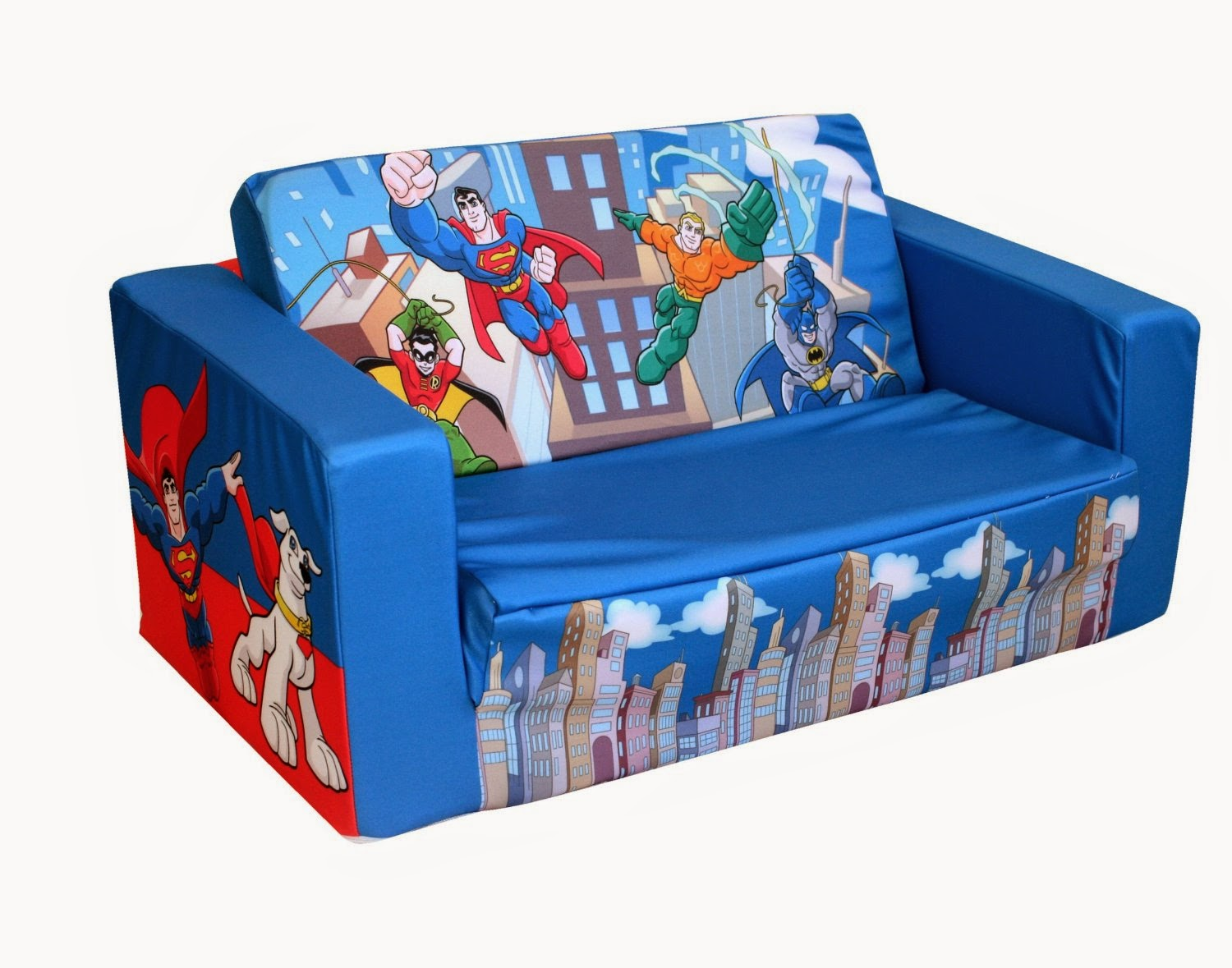 children s pull out sofa foot reflexology kids couch mini for