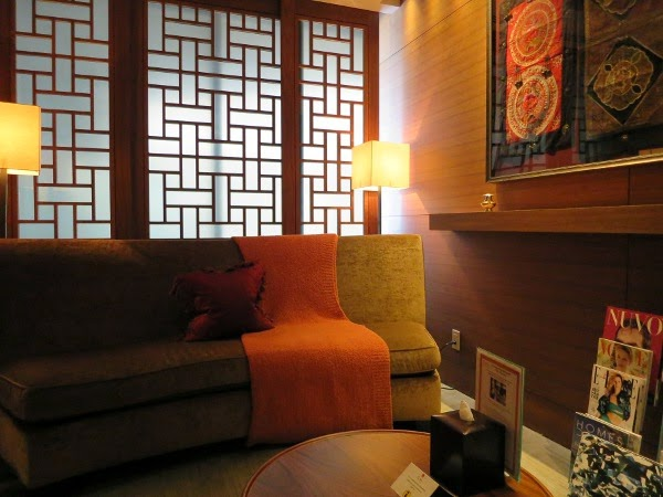 CHI, The Spa at Shangri-La waiting area