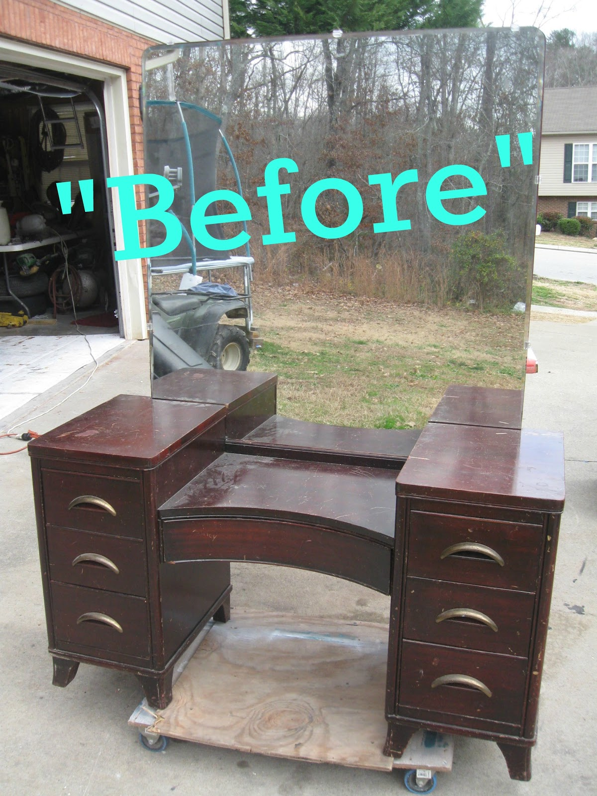 That's Not Junk...Refurbished Recycled Furniture: Antique