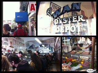 San Francisco -死前一定要吃的 Swan Oyster Depot