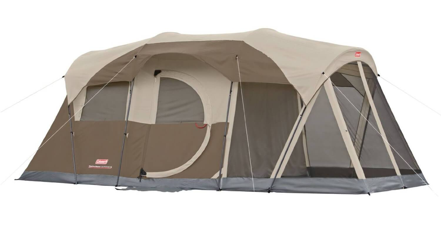 Coleman® WeatherMaster® 6 Screened Tent Target - coleman weathermaster 6-person screened tent