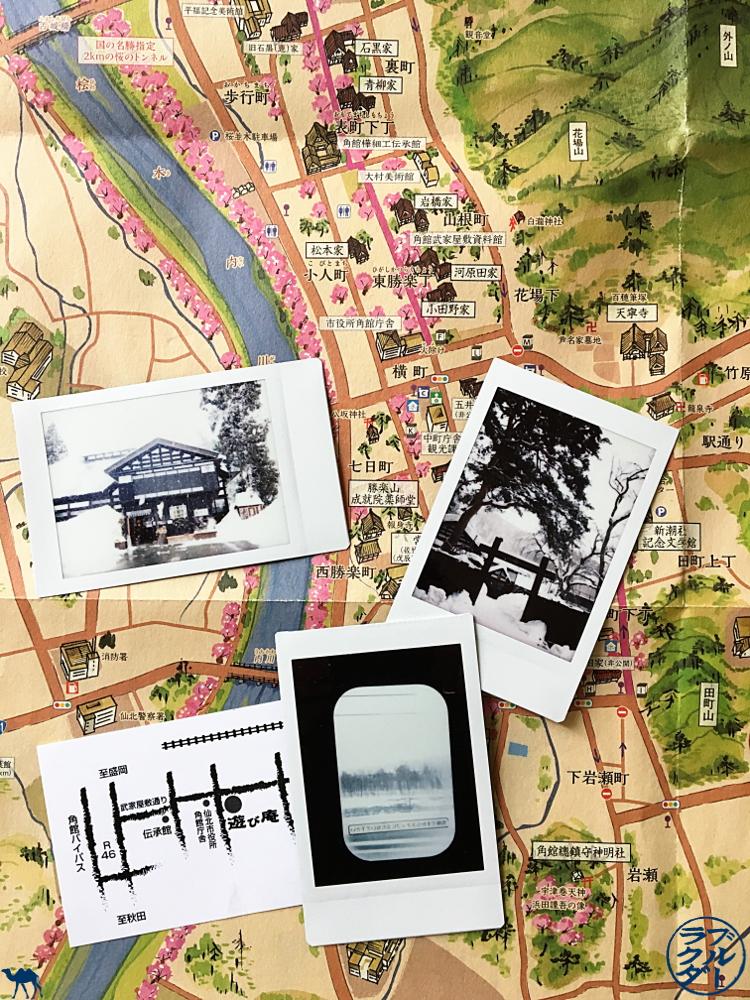 Le Chameau Bleu - Polaroid de Kakunodate - Voyage au Japon dans le Tohoku