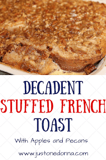 Decadent Apple and Pecan French Toast
