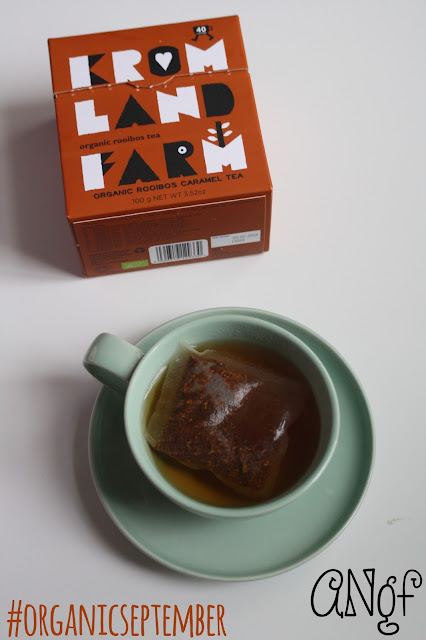 Kromland Farm's Caramel Rooibos Tea for #OrganicSeptember from Anyonita-nibbles.co.uk