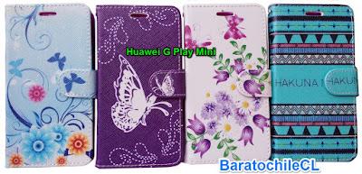 Flipcover Estuche con Tapa Huawei G Play Mini