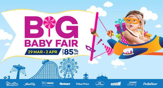 lazada malaysia big baby fair blogger contest