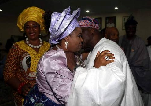 obasanjo kissing patience jonathan