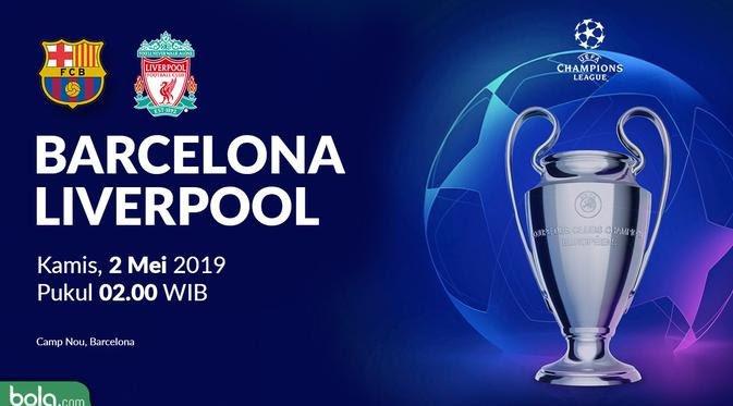 Liga Champions, Liverpool Libas Barcelona 4-0