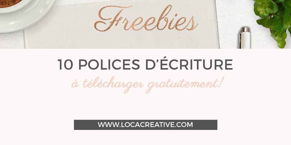 10 polices script gratuites à télécharger