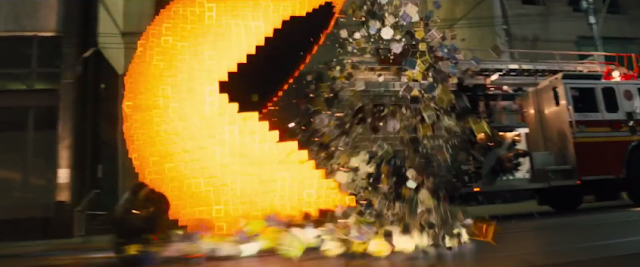 Pac-Man Pixels film movie Adam Sandler