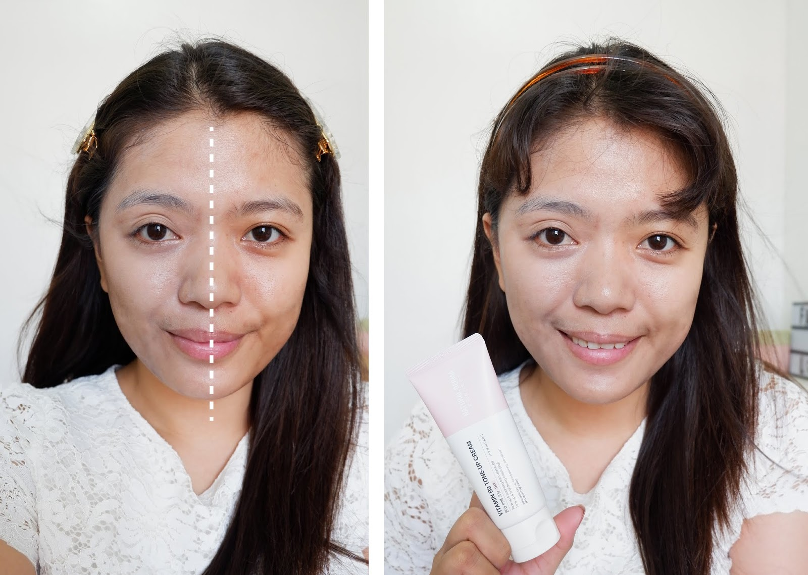 NATURAL DERMA PROJECT: VITAMIN B9 TONE-UP CREAM REVIEW