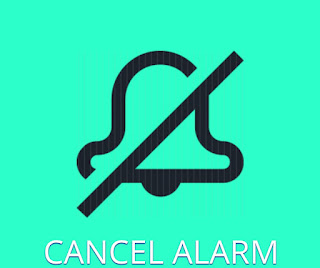 Cancel alarm