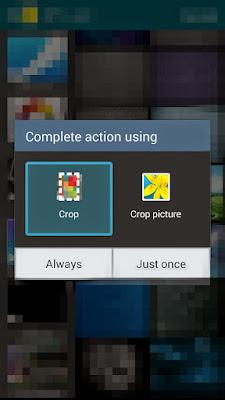 شرح تطبيق TwCrop لوضع الخلفية بالكامل