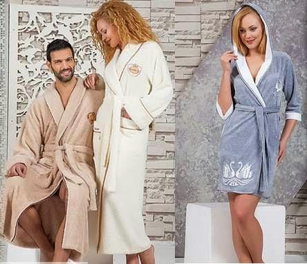 «Newtextile» - женские, мужские и детские халаты, домашняя одежда оптом из  Турции. « 64e20b827e6