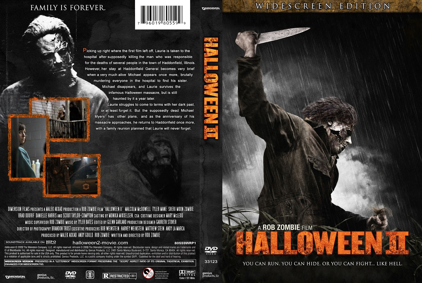The Horrors of Halloween: HALLOWEEN 2 (2009) VHS, DVD and Blu-ray ...